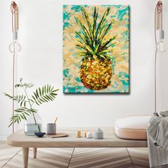 """Sarah LaPierre is an award winning millennial artist recognized by her style """"Thick Paint"""". Her inspiration comes from the tropical azure skies and environment that surrounds her in the Sunshine state"""