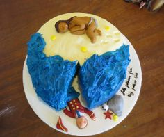 "@HazyHale Hazy Hale Cake inspired by Ariel's song in the Tempest #Cakespeare ""full fathom five thy father lies..."""