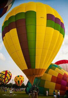 Orange Beach...annual hot air balloon event.