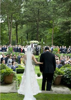 Beautiful wedding at Caramoor in Westchester County, NY with David Stark Events