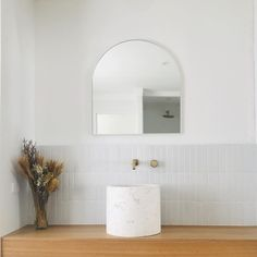 Interior stylist Tim Connah shares tips with Concrete Nation how to create the dream bathroom Tiny House Interior, Home Interior Design, Bathroom Interior, Interior Tiles, Interior, Concrete Basin, Beautiful Bathrooms, Round Mirror Bathroom, Bathroom