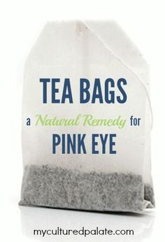 Pink Eye - A Natural Remedy? Yes, something you probably have on hand! It may surprise you how easy a natural remedy works but it has for me and my family!