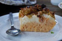 Kuskusovo-angreštový koláč Recept na našem blogu (odkaz na profilu). ~ Gooseberry-couscous cake Couscous, Vanilla Cake, Pudding, Food, Custard Pudding, Essen, Puddings, Meals, Yemek