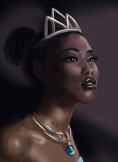 Real Tiana... by ~Mickey89Eli on deviantART