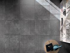 Porcelain stoneware wall/floor tiles PAPIER by ABK Industrie Ceramiche