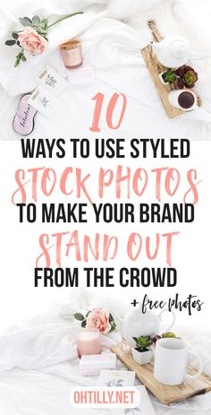 ways to use styled stock photos pinnable graphics that work
