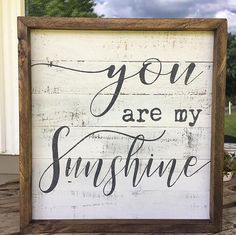 you are my sunshine nursery wall decor farmhouse wall decor