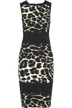 ROBERTO CAVALLI Animal-Print Stretch-Jersey Dress | 995.00 USD