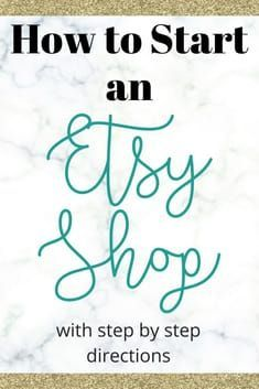 How to start an Etsy shop with easy step-by-step directions. Learn how to get started from an experienced Etsy shop seller with close to sales. para vender How to Start an Etsy Shop Etsy Business, Craft Business, Business Ideas, Online Business, Business Help, Business Marketing, Creative Business, Business Launch, Business Writing