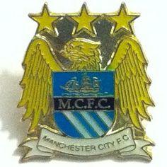 Manchester City Metal Pin Badge