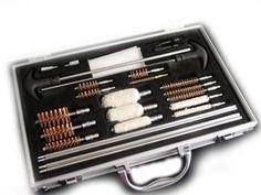 GUN CLEANING KIT - 30+ Parts SHOTGUN PISTOL RIFLE tools