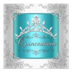>>>Low Price Guarantee          Quinceanera 15th Birthday Teal Blue Silver Tiara Personalized Invitation           Quinceanera 15th Birthday Teal Blue Silver Tiara Personalized Invitation online after you search a lot for where to buyReview          Quinceanera 15th Birthday Teal Blue Silve...Cleck Hot Deals >>> http://www.zazzle.com/quinceanera_15th_birthday_teal_blue_silver_tiara_invitation-161543960240097282?rf=238627982471231924&zbar=1&tc=terrest