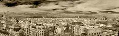 El cielo de Madrid - Desde el Circulo de Bellas Artes