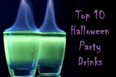 Halloween Party Drinks - @Lacy Beckstrom Callaway