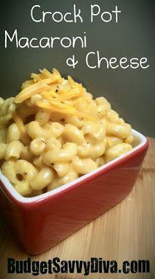 (crock pot macaroni & cheese)