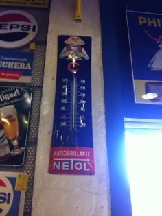 Una de las piezas de coleccionismo más buscadas: Uno de los pocos termómetros de #Netol que hay en el mundo
