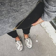 Topshop Snakeskin slip on sneakers Topshop snakeskin print slip on sneakers. Made in Italy. These run small. I'm usually 8.5. Topshop Shoes Sneakers