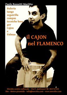 corso e seminari di cajon flamenco