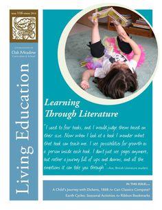 Oak Meadow ~ Living Educadion Journal ~ Winter 2014: Learning Through Literature ~ www.oakmeadow.com