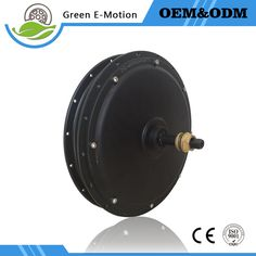 High power 48v/60v 1000w Electric wheel motor brushless gearless DC hub Motor for electric bicycle