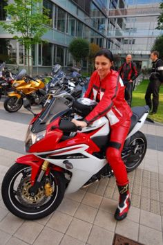 Motorcycle jacket and pant to bike HONDA CBR, cow leather, PSi protectors, made-to-measure.