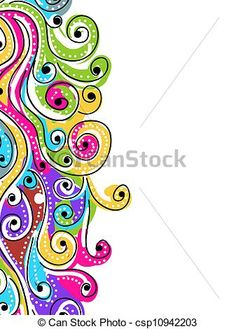 colorful music notes design - Google Search