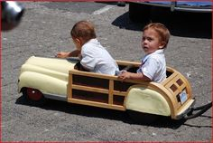 Woody Wagon | Vintage Children's Pedal Car