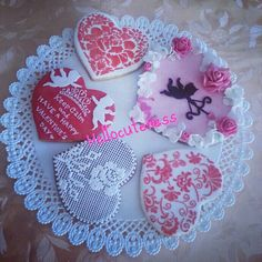 Valentine's day cookies made by me ♥