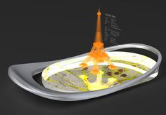 Cobalto, futuristic device, future gadget, 3D objects, Future Phone