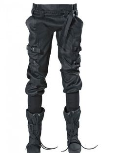 Super cool pants! Could be post apocalyptic, cyber or urban superhero!!