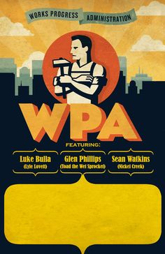 12.) One of many WPA posters promoting the program.