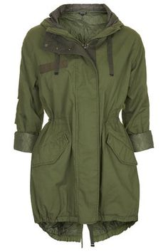 Casual Padded Parka Jacket