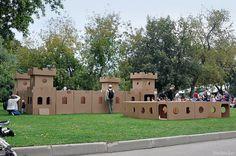 Cardboard city_017 by playandgrow, via Flickr