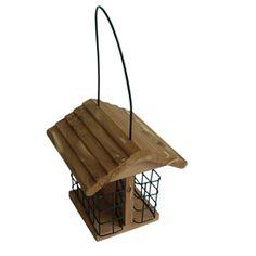 Garden Treasures Cedar Suet Bird Feeder