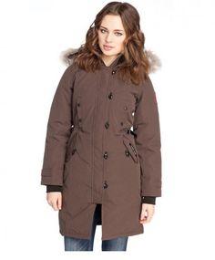 manteau long femme canada goose