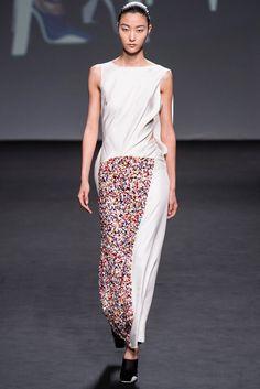 Christian Dior Fall 2013 Couture Fashion Show - Ji Hye Park (Elite)