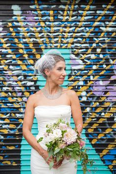 Chic Pink Lace and Gold Tribeca Rooftop Wedding - Fab You Bliss