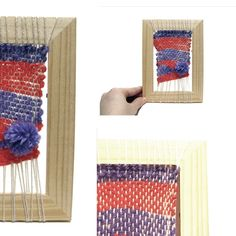 Les Antònies - #elretopinteretest septiembre DIY Telar - Weawing