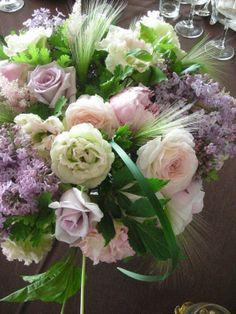 bridal banquet 会場装花 - fleurs trémolo フル-ル トレモロ 広島市の花屋