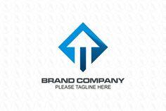 Upward Arrow - $301(negotiable) http://www.stronglogos.com/product/upward-arrow #logo #design #sale #upward #arrow #blue #entertainment #advertising #consulting #IT