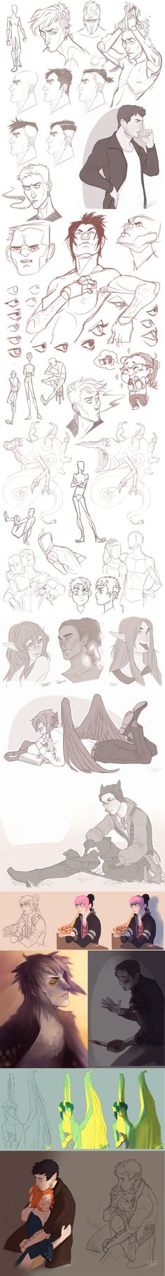 Sketch Dump 14 by Rejuch on DeviantArt