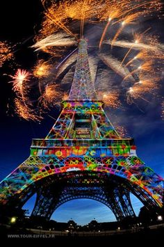 FIREWORKS IN PARIS.