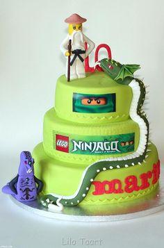 Ninjago the Great Devourer Cake