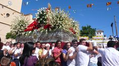 Ugíjar.- the Virgin is carried around the town to the thunderous sound of fireworks.