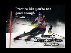 Mikaela Shiffrin Photo Quote Poster Wall Art by ArleyArtEmporium
