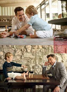Robert Downey jr. & jr.