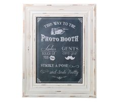 Photo Booth Framed Sign
