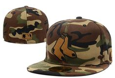 Cheap MLB Boston Red Sox 59Fifty Hats Retro Classic Pop Caps Camo|Factory Direct Sale and Please go follow me to pick up coupons