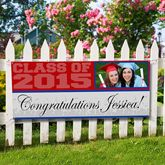 Photo Personalized Graduation Banners - Class Of - 8498 for Alyssa Graduation Party Planning, College Graduation Parties, Graduation Banner, Graduation Celebration, Graduation Decorations, Graduation Ideas, Graduation 2015, Graduation Invitations, Grad Parties