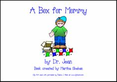 Book and song for Muffins with MOm